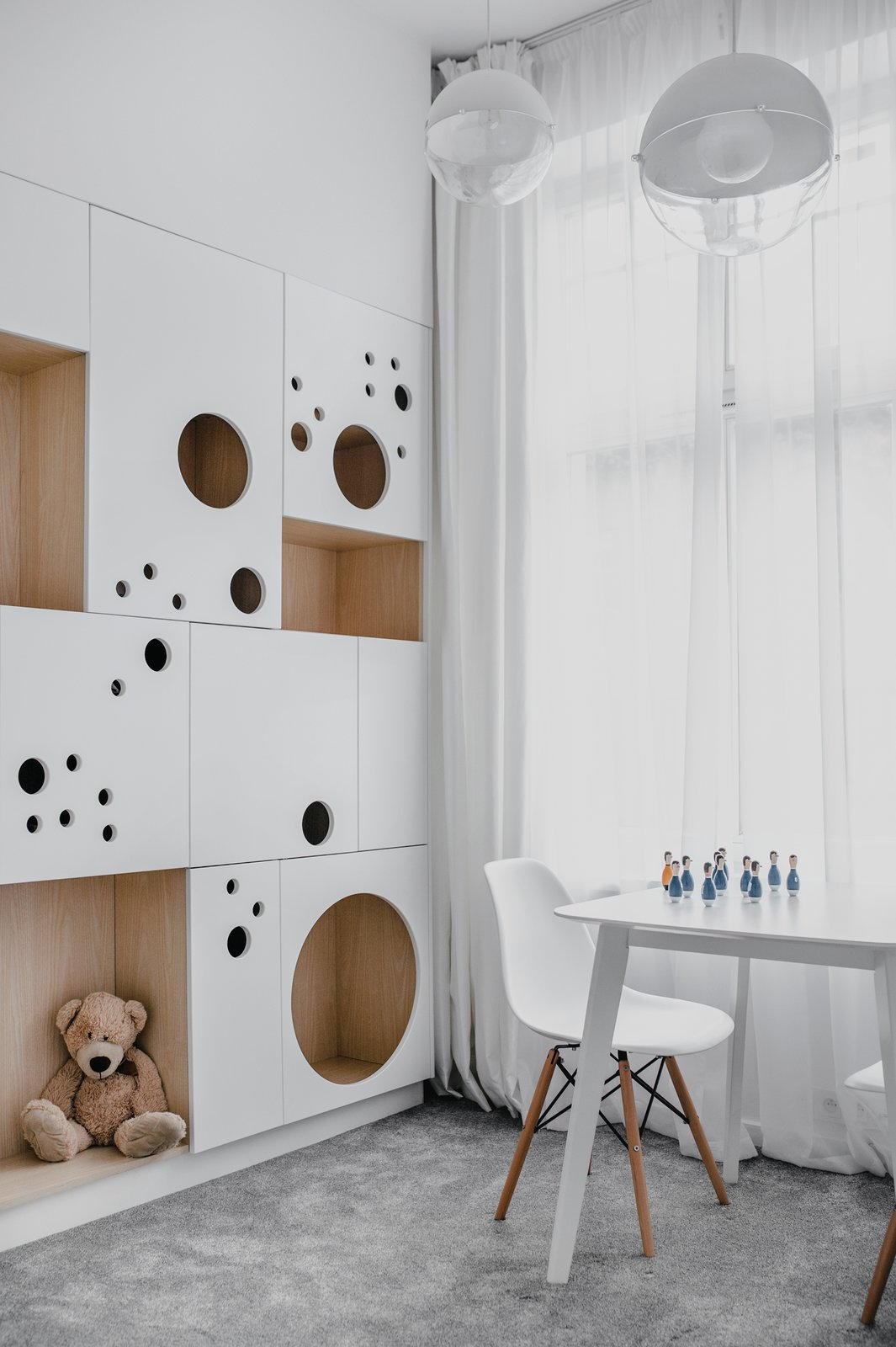 childrens room  Wireframe by MUS ARCHITECTS