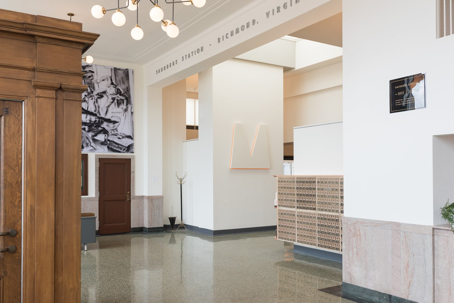 Photo 3 of 16 in A Historic U.S. Post Office Is Transformed Into a ...