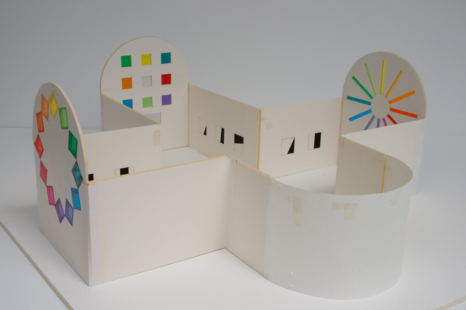 A model of the secular chapel.  Photo 9 of 10 in Artist Ellsworth Kelly's Final Work Is Now Open in Austin