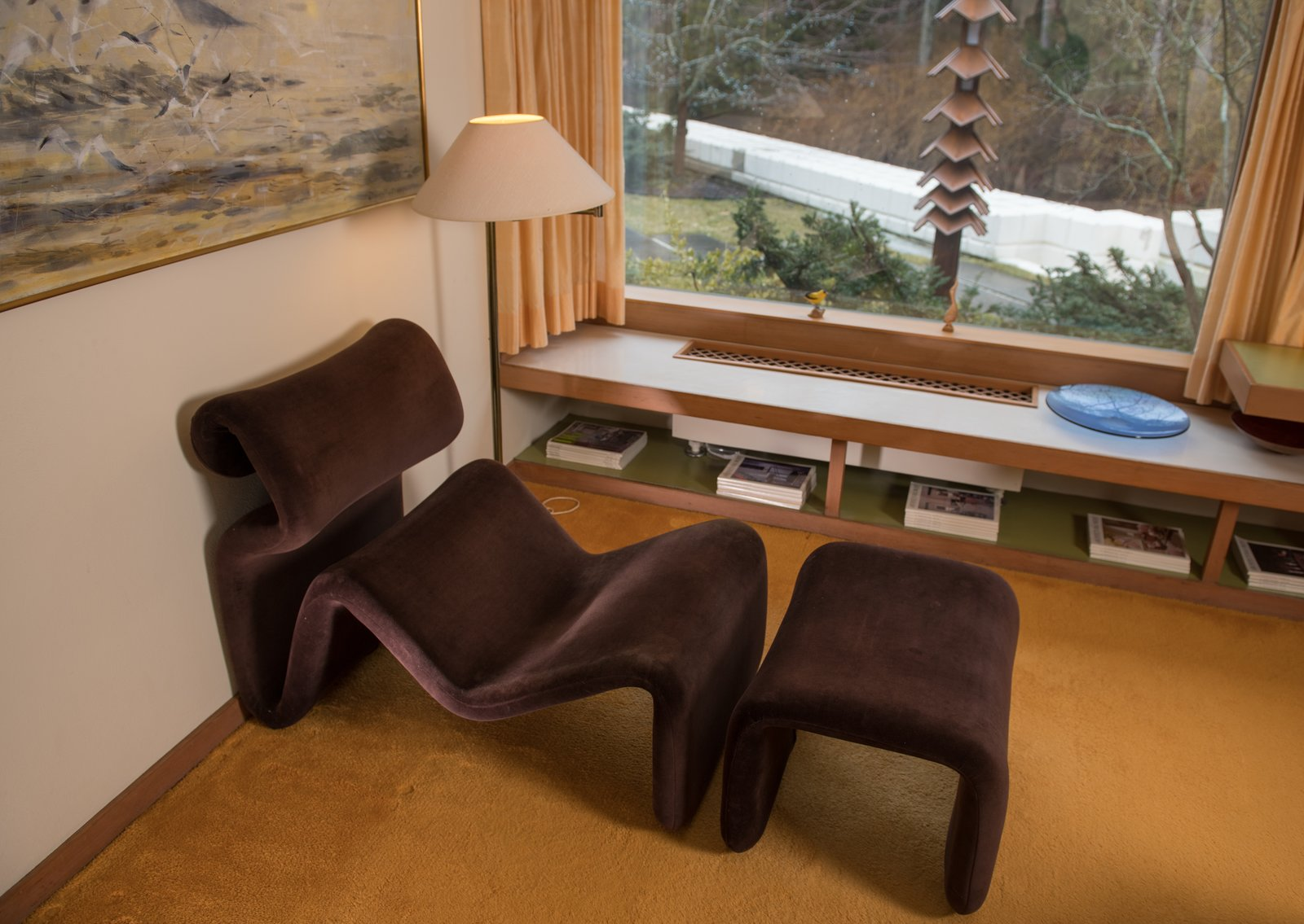 Polyurethane Foam Living Room Chair
