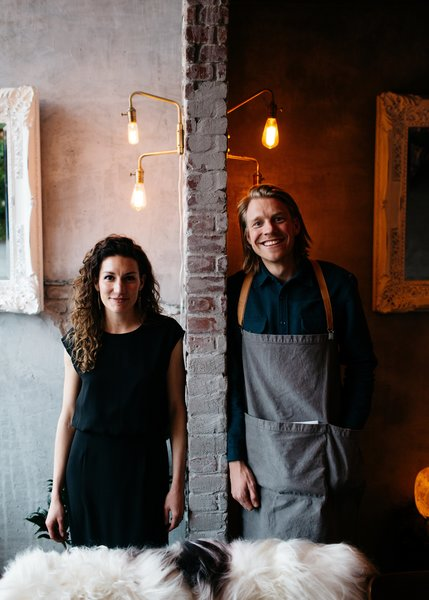 Alexandra Gove and Koen van Renswoude, co-owners of Hygge Life.