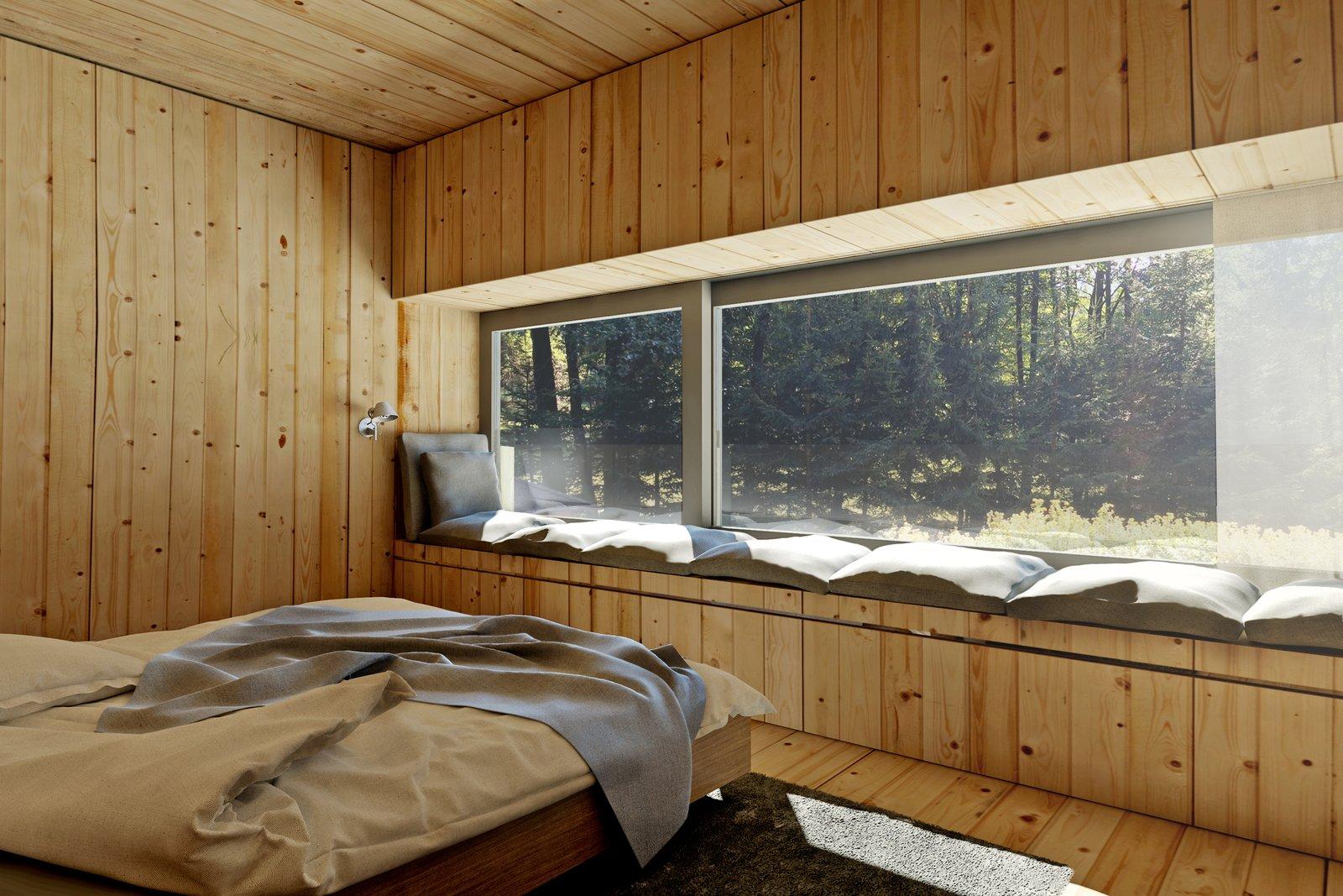 Mountain hut bedroom