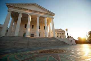 Virginia's state capitol is the oldest capitol in the country, and it was designed by Thomas Jefferson.