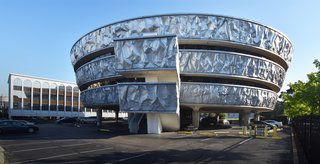 Architect Haigh Jamgochian's Markel Building is clad in 555 feet of aluminum and is located at 5310 Markel Road.
