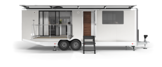 Living Vehicle Launches New 2020 Luxury Trailer With Off-Grid Living in Mind