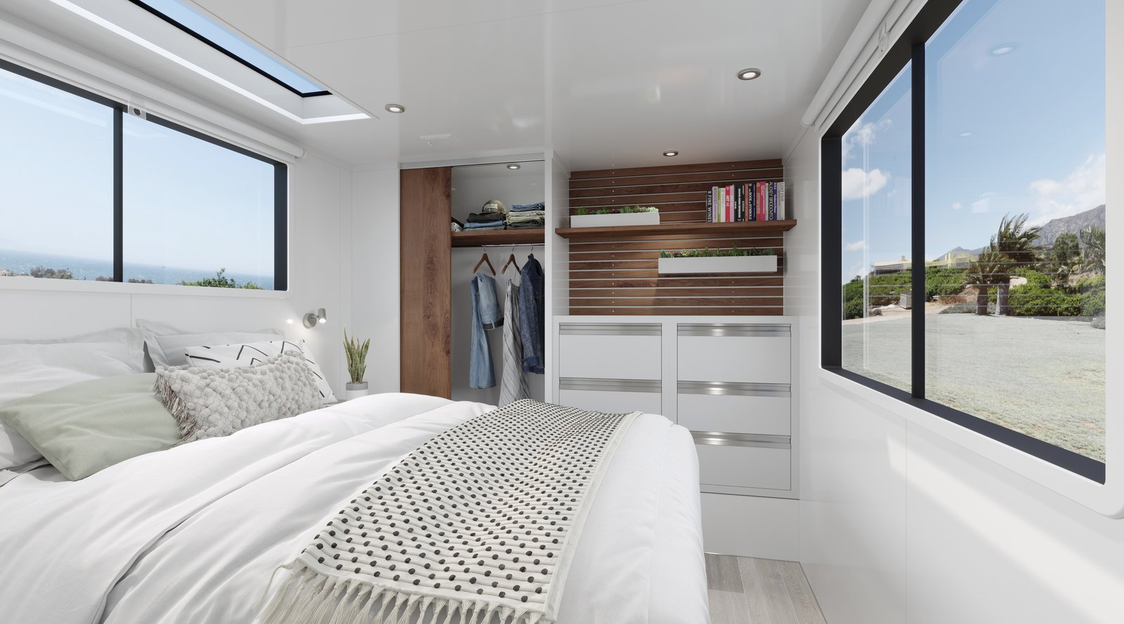 Living Vehicle 2020 Trailer bedroom