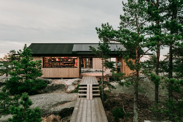 These Self-Sufficient Island Cabins in Finland Have All the Comforts of Home