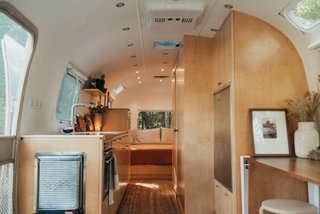 A 1973 Airstream Gets an Organic Remodel Inspired by Frank Lloyd Wright