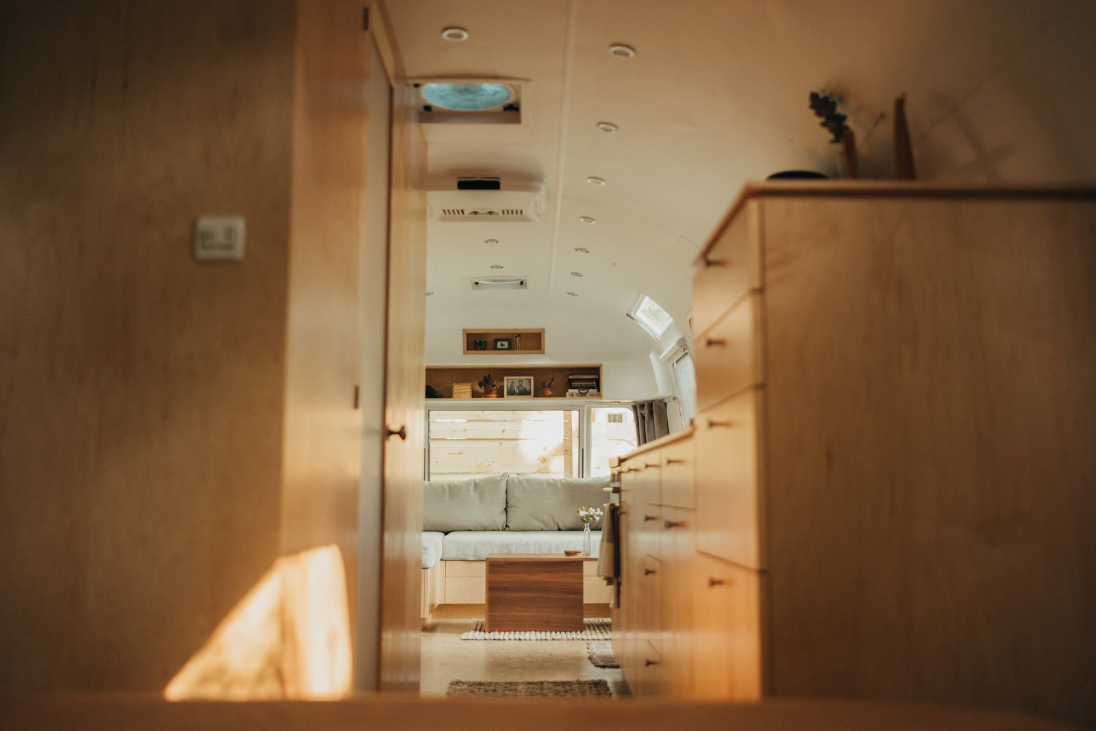 1973 Airstream Remodel interior