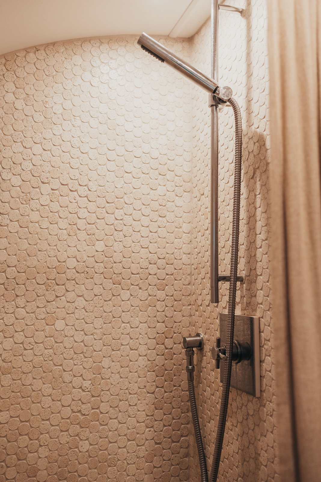 1973 Airstream Remodel shower