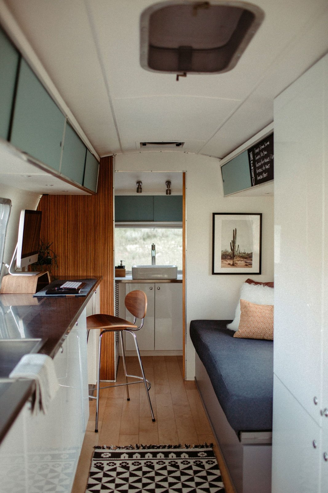 1971 Airstream Remodel by Traverse Design + Build kitchen