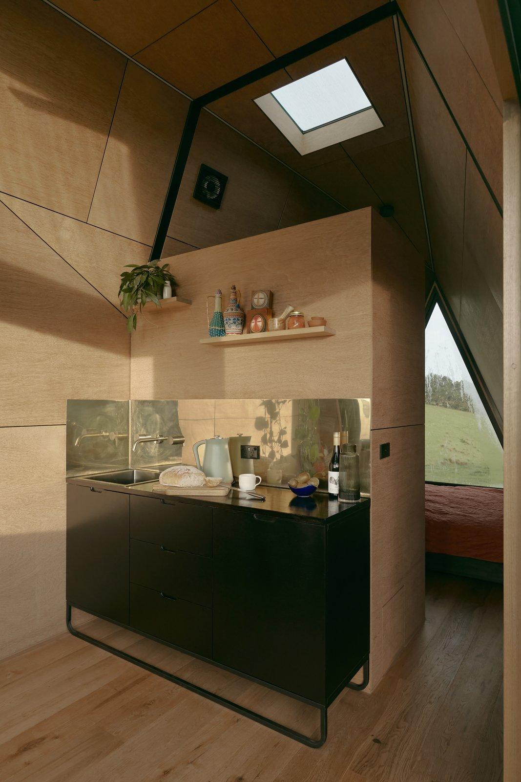 Base Cabin kitchenette