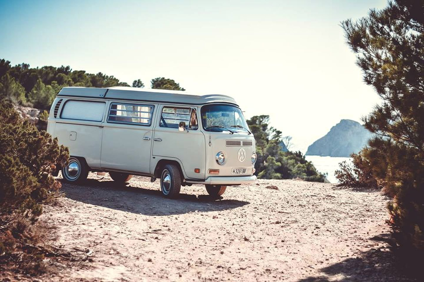 Explore Ibiza's picturesque coast while holed up in one of these classic VW camper vans.  Photo 9 of 18 in 17 Kick-Ass Campers and Trailers You Can Rent From $45 a Night