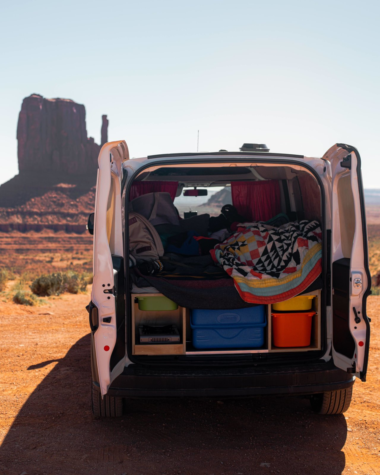Explore Colorado's frontier with a Dodge RAM that has all the bells and whistles.  Photo 3 of 18 in 17 Kick-Ass Campers and Trailers You Can Rent From $45 a Night