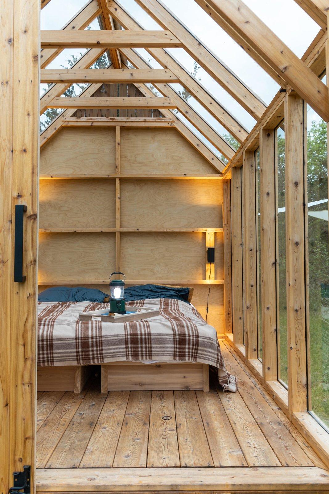 Skyward Cabin interior
