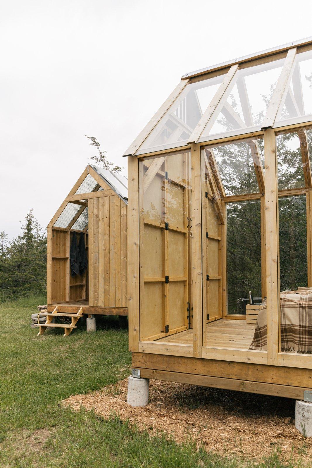Skyward Cabin exterior