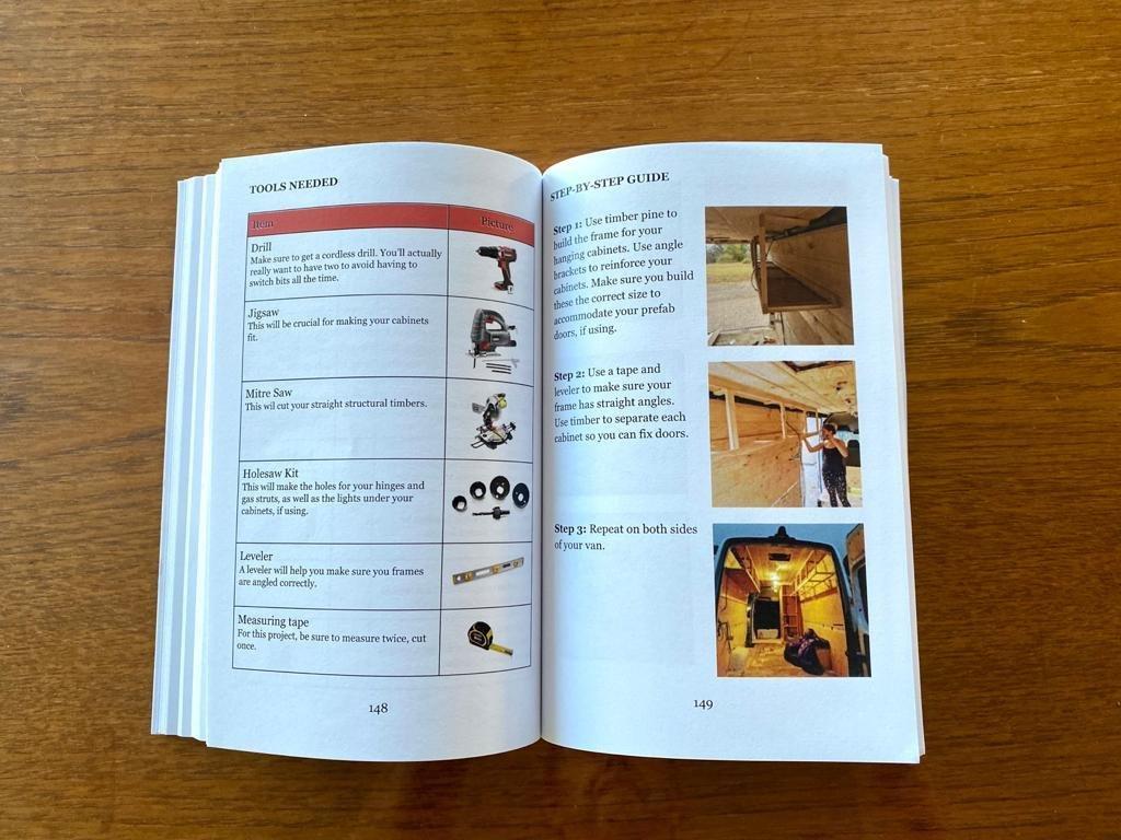 Van Build: A guide to designing, converting and self-building camper vans & motorhomes