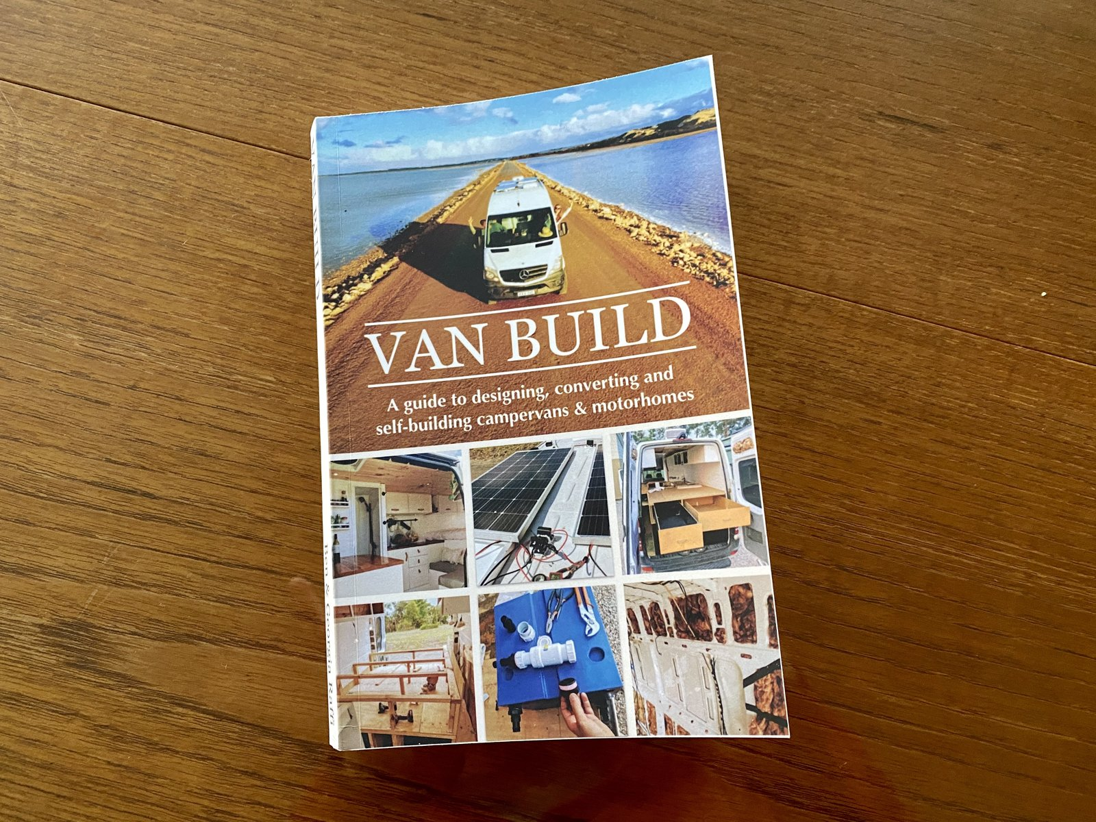 Cover of Van Build: A guide to designing, converting and self-building camper vans & motorhomes.