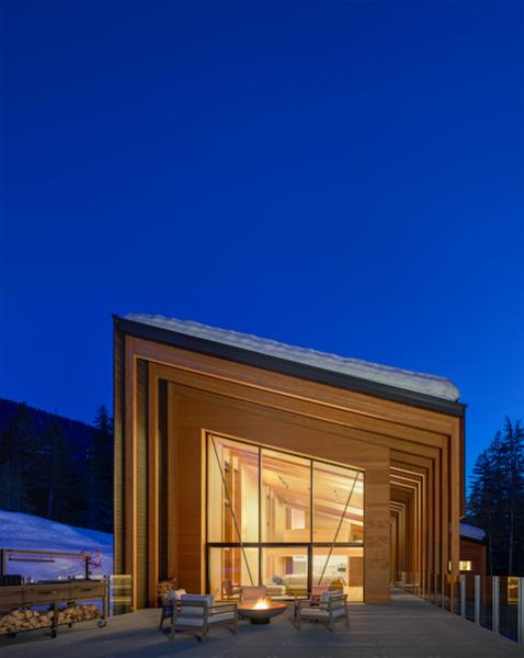 An expansive deck maximizes outdoor living opportunities.