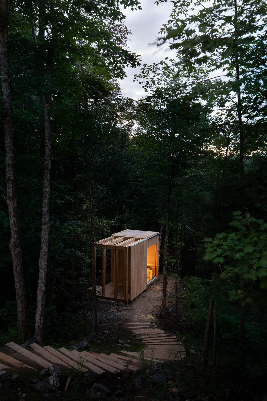 Hinterhouse sauna