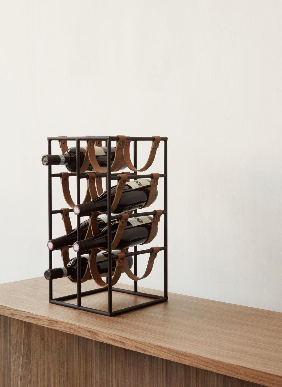 Arthur Umanoff wine rack by MENU