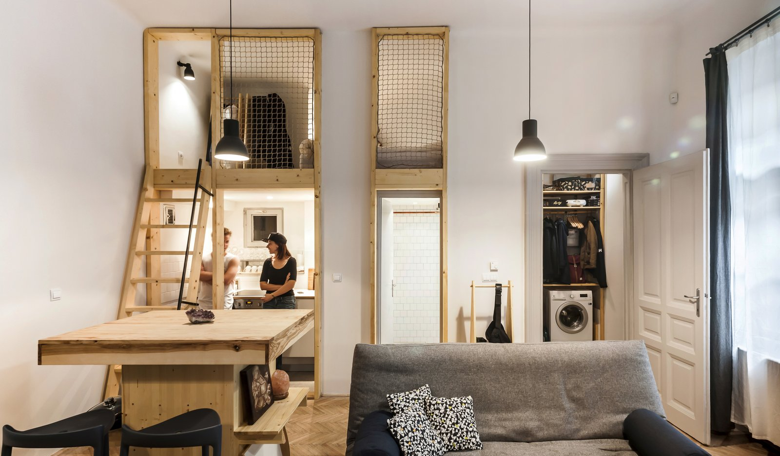 Micro Live Work Studio Modern Home In Budapesthungary By