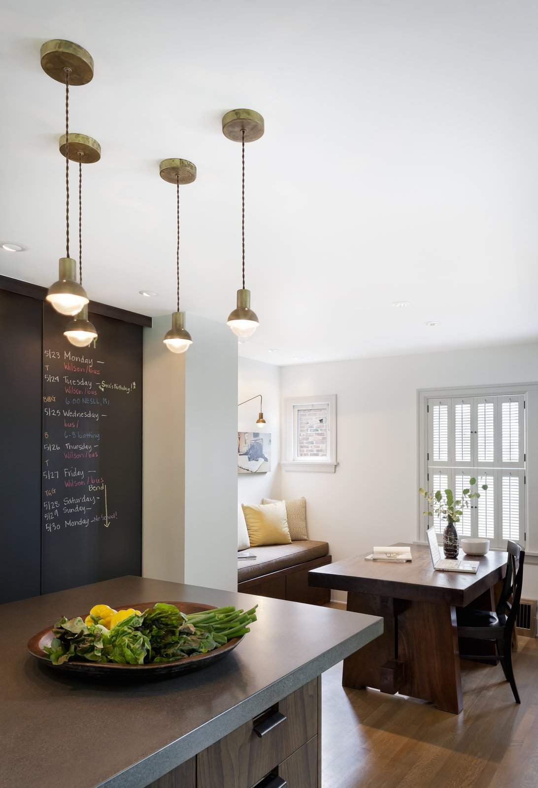 Dining Room Brick House transformed  Brick House Transformed by ReruchaStudio