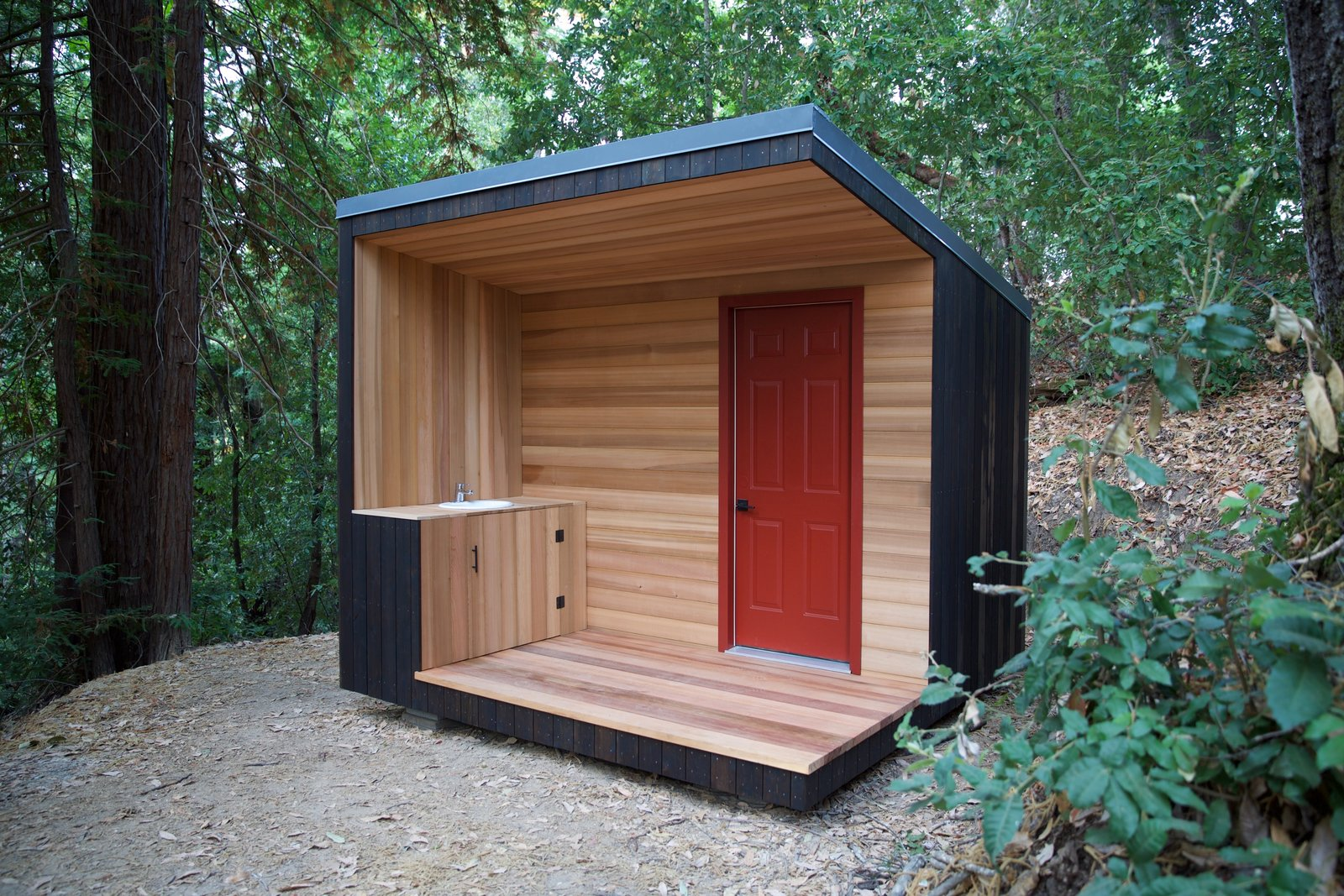 Build Your Own Modern Outhouse - Dwell on wooden camping plans, wooden deck plans, wooden table plans, wooden garden plans, wooden chairs plans, wooden dock plans, wooden home plans, wooden well plans, wooden sink plans, wooden porch plans, wooden bar plans, wooden boat plans, wooden shop plans, wooden tractor plans, wooden loft plans, wooden bank plans, wooden balcony plans, wooden bridge plans, wooden flowers plans, wooden small house plans,