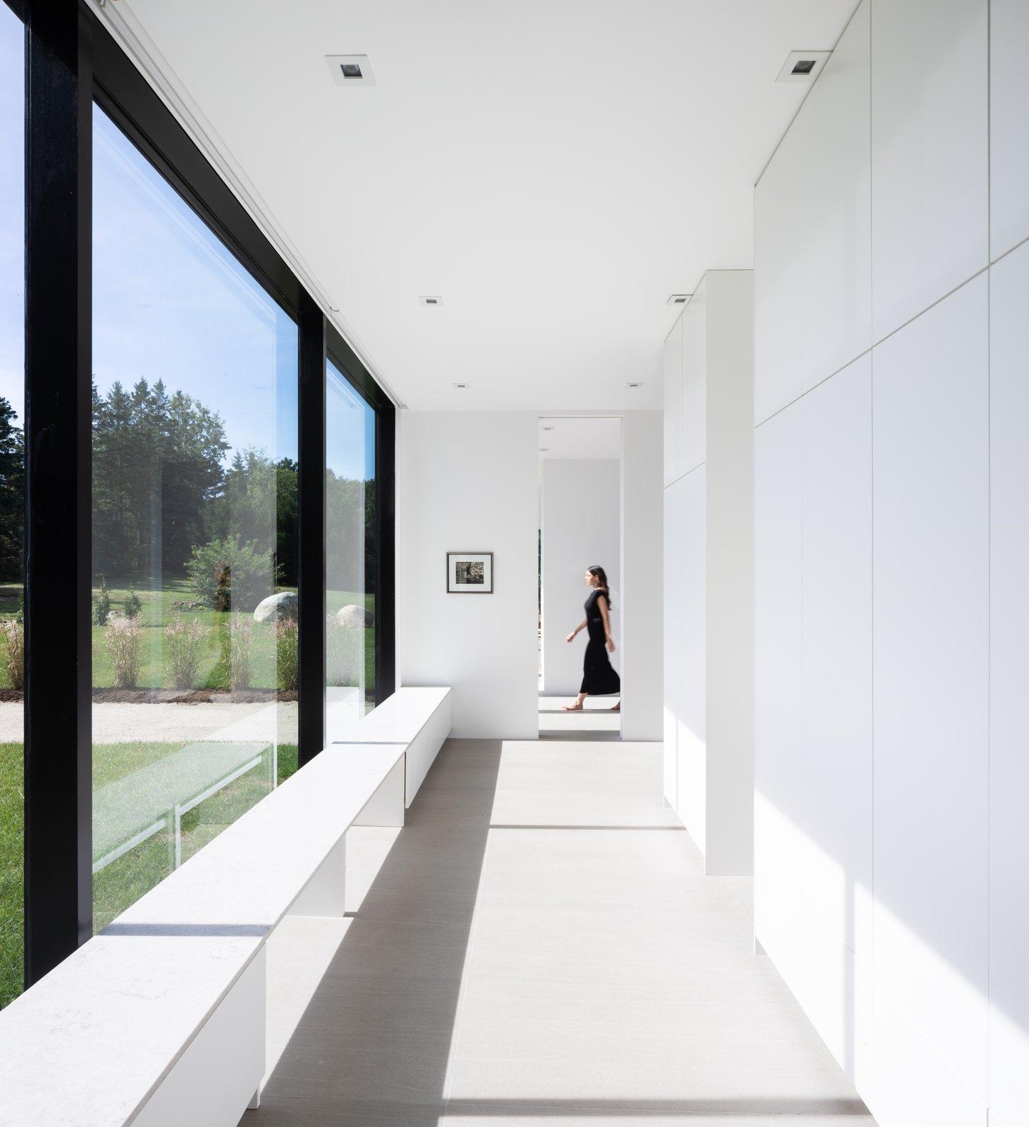 Teph Inlet daylit hallway