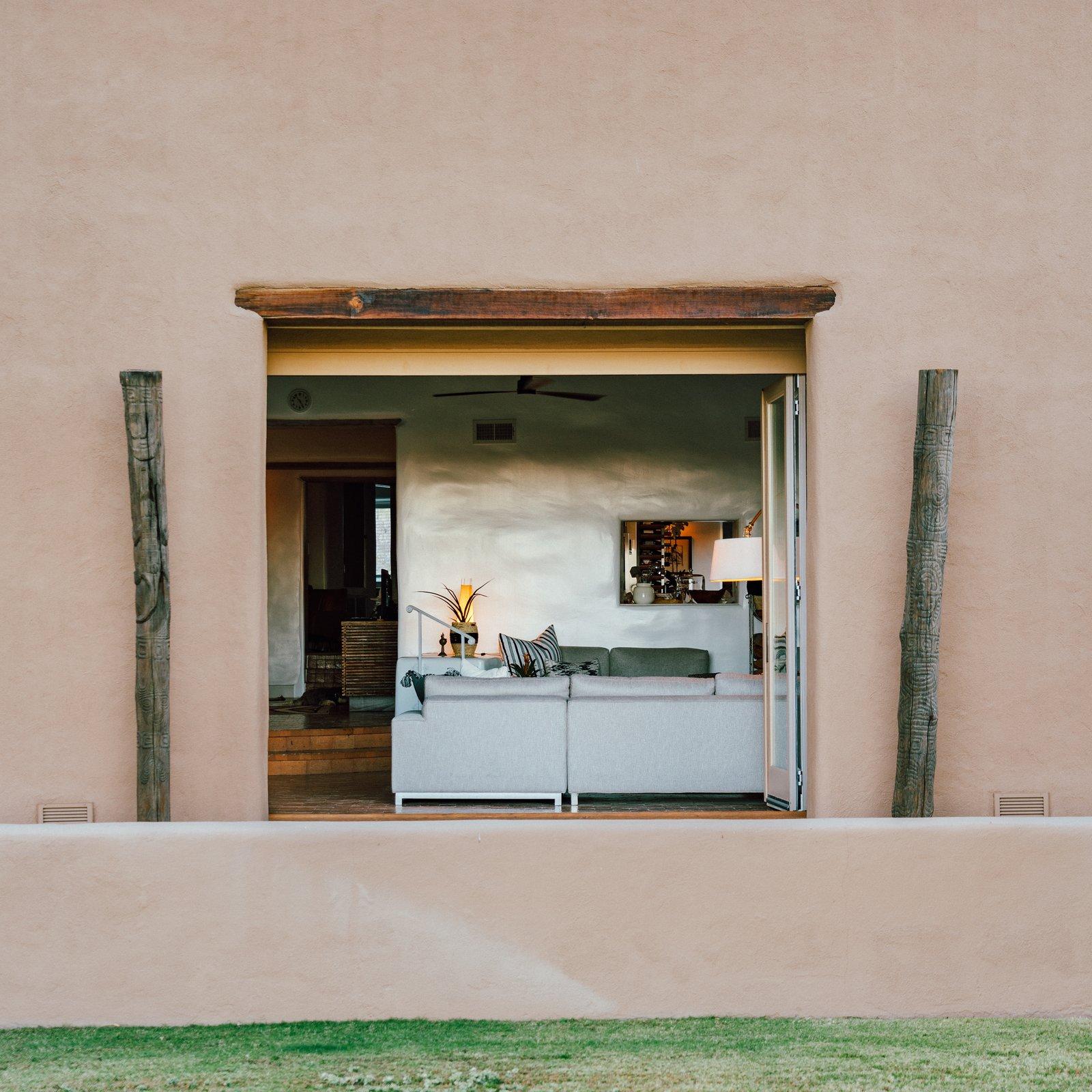 Melissa Young desert hacienda exterior