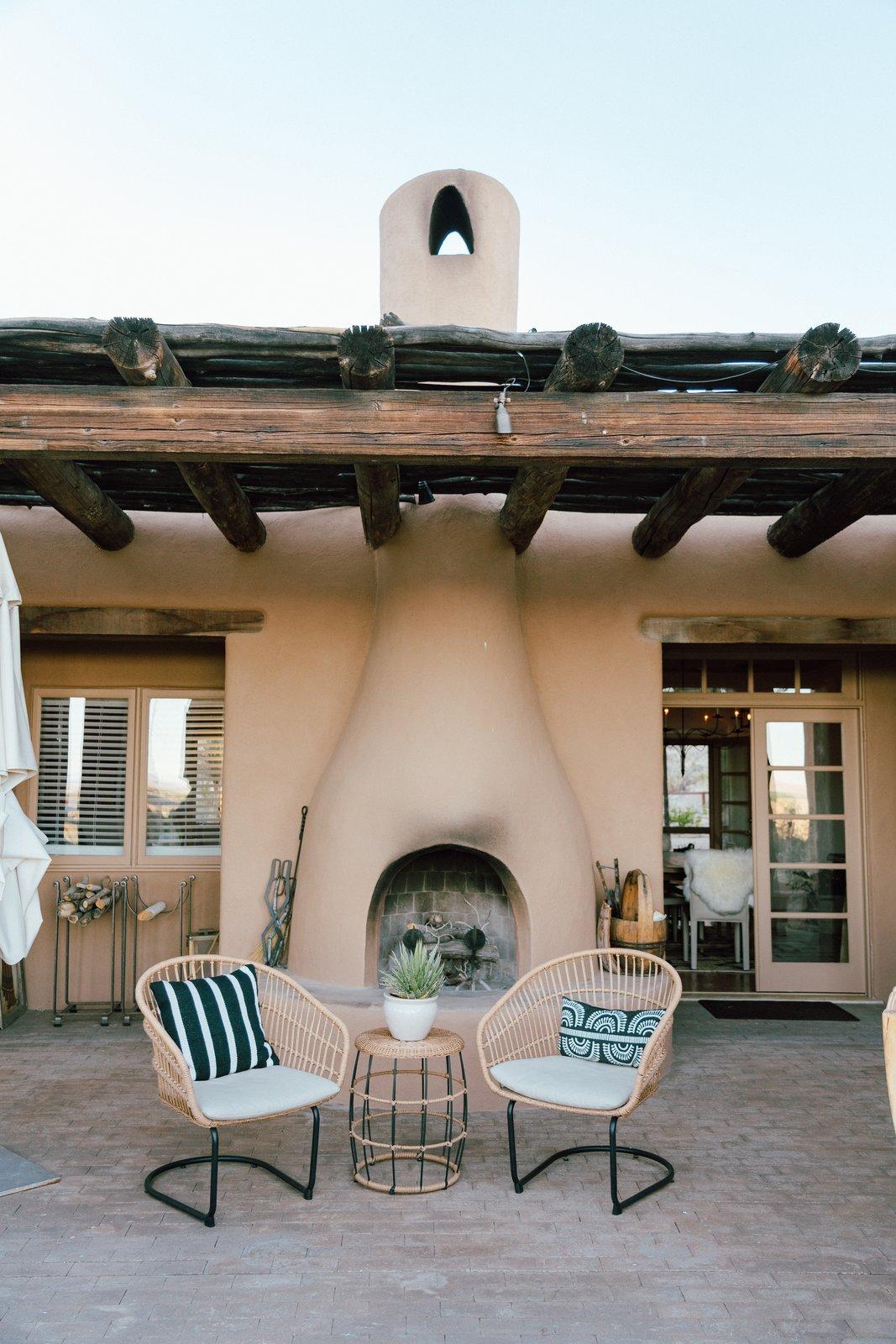 Melissa Young desert hacienda outdoor kitchen