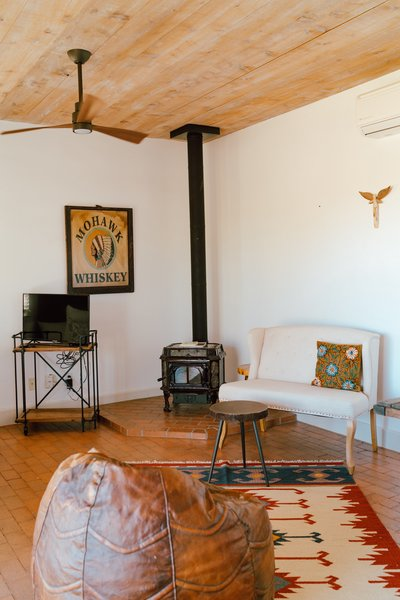 The casita offers a cozy escape for guests.