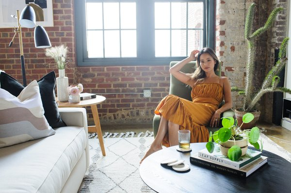 Get the Look: Actress Jamie Chung's Chic Industrial Loft