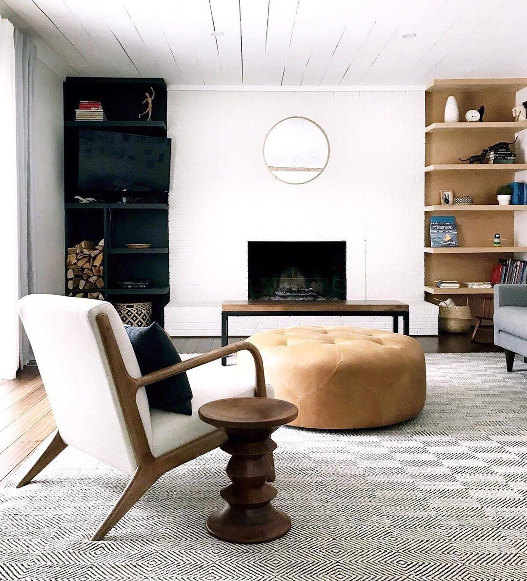 clare conklin renovated living room