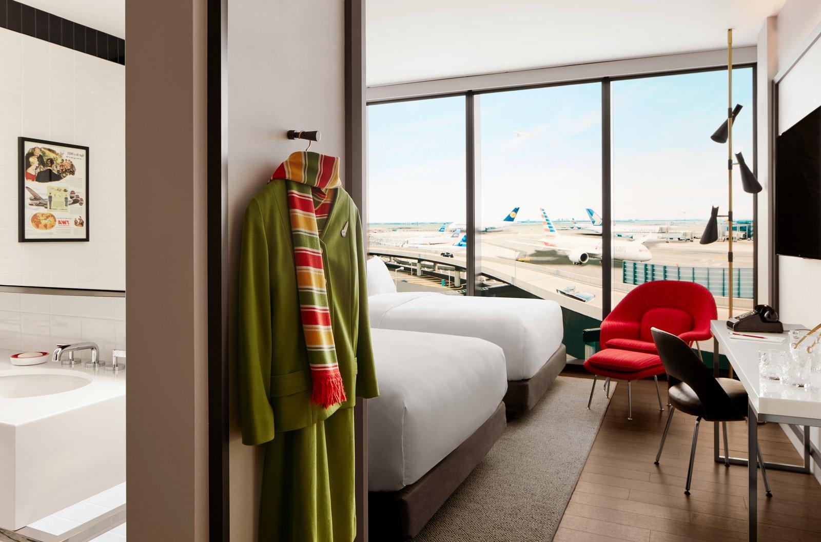 TWA Hotel JFK Airport guest room