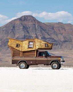 The truck cabin.