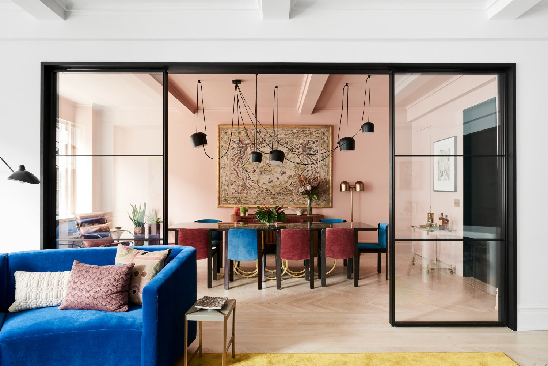 After: Park Avenue Prewar Apartment dining room