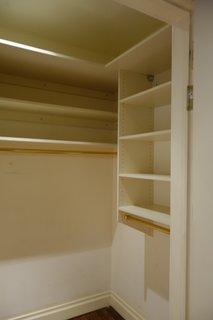 MKCA turned a closet into a new powder room.