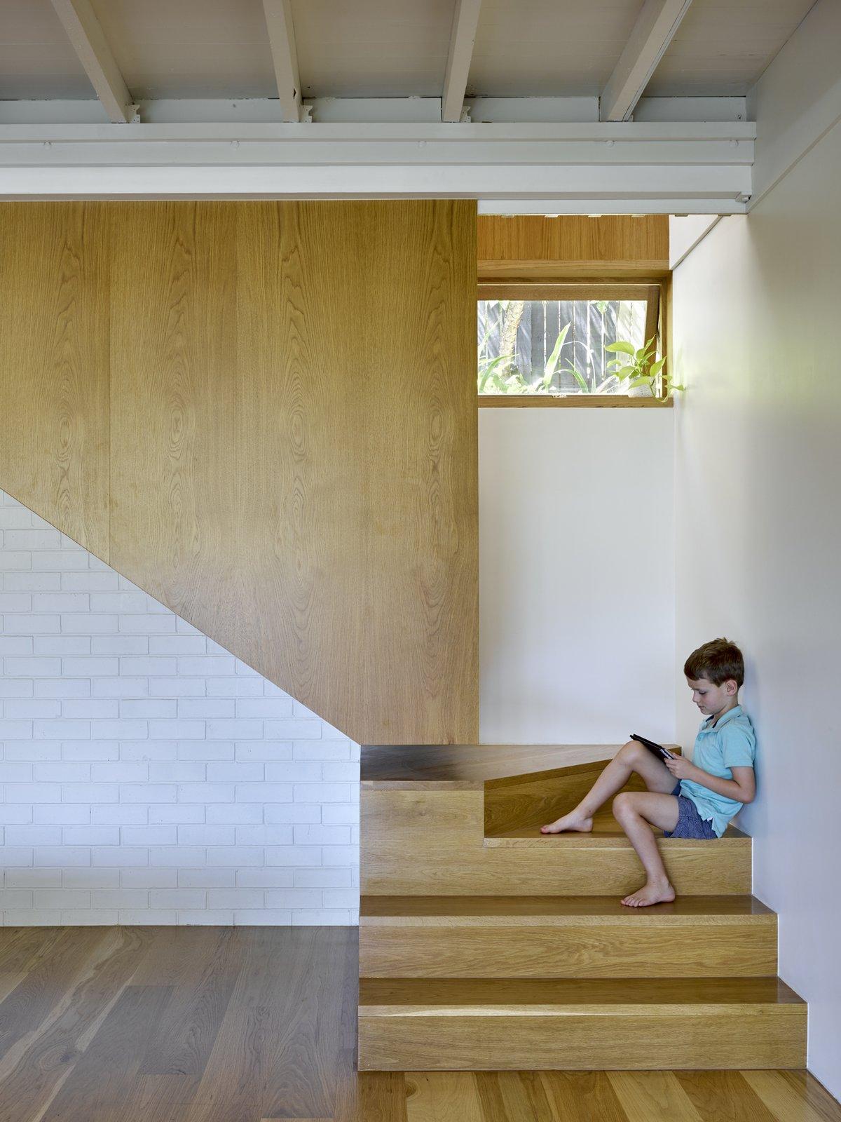 Jacaranda House staircase