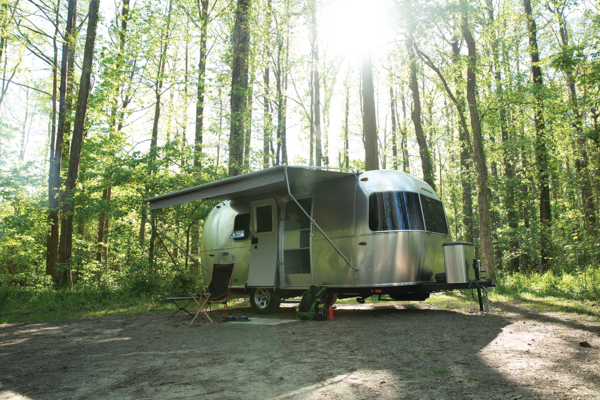 An approachable Airstream for first-timers, Bambi offers all the creature comforts of home while also being small enough to be towed by a midsize SUV and fit into smaller campground spots.