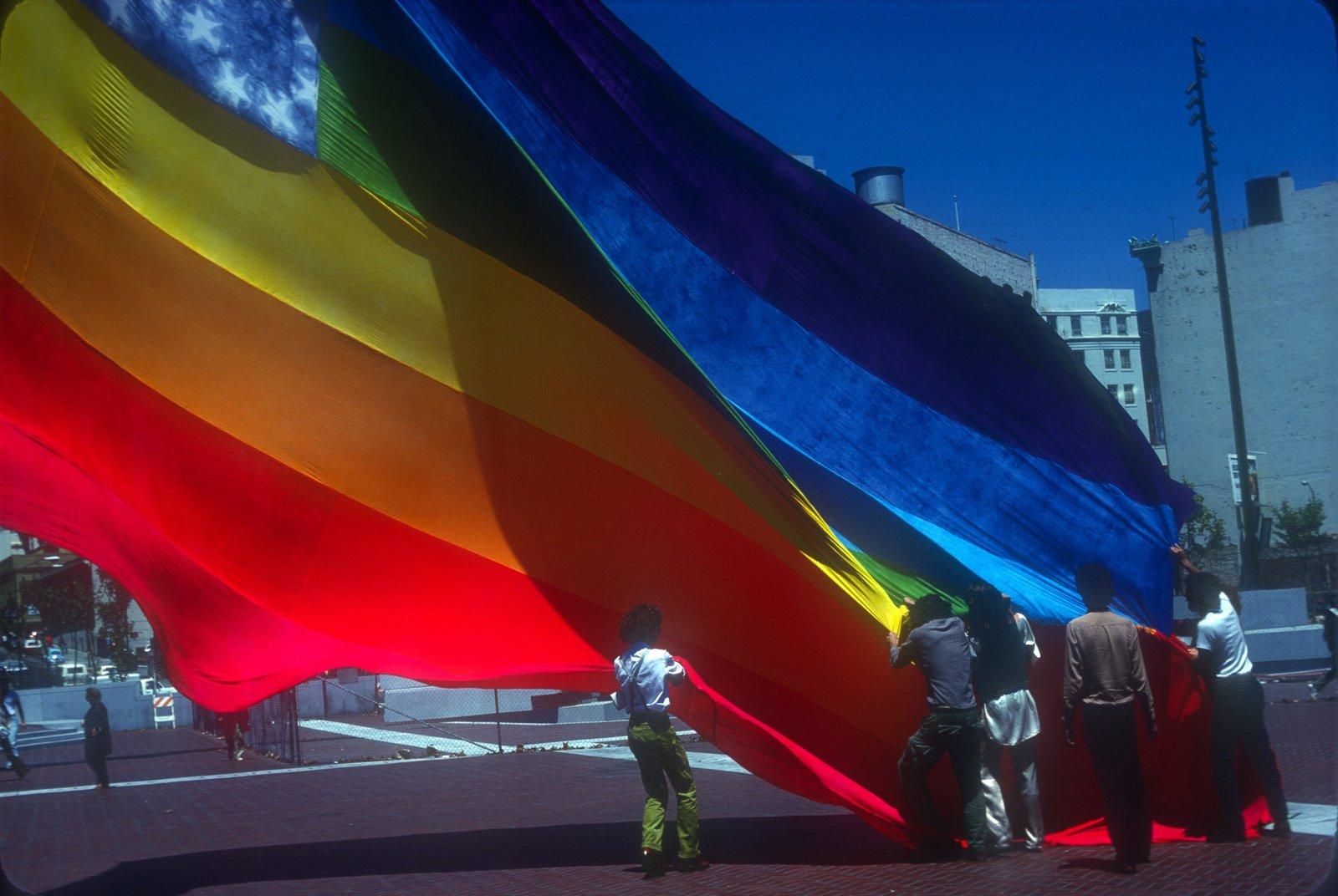 original rainbow flag 1978