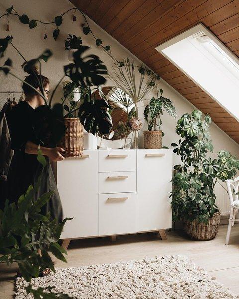 Friederike Weid's Scandinavian-style abode.