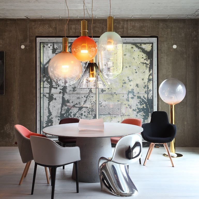 BOMMA's bespoke technology allows them to create a myriad of unique shapes and colors.  Photo 12 of 12 in 12 Lighting Designers You Should Follow on Instagram Right Now