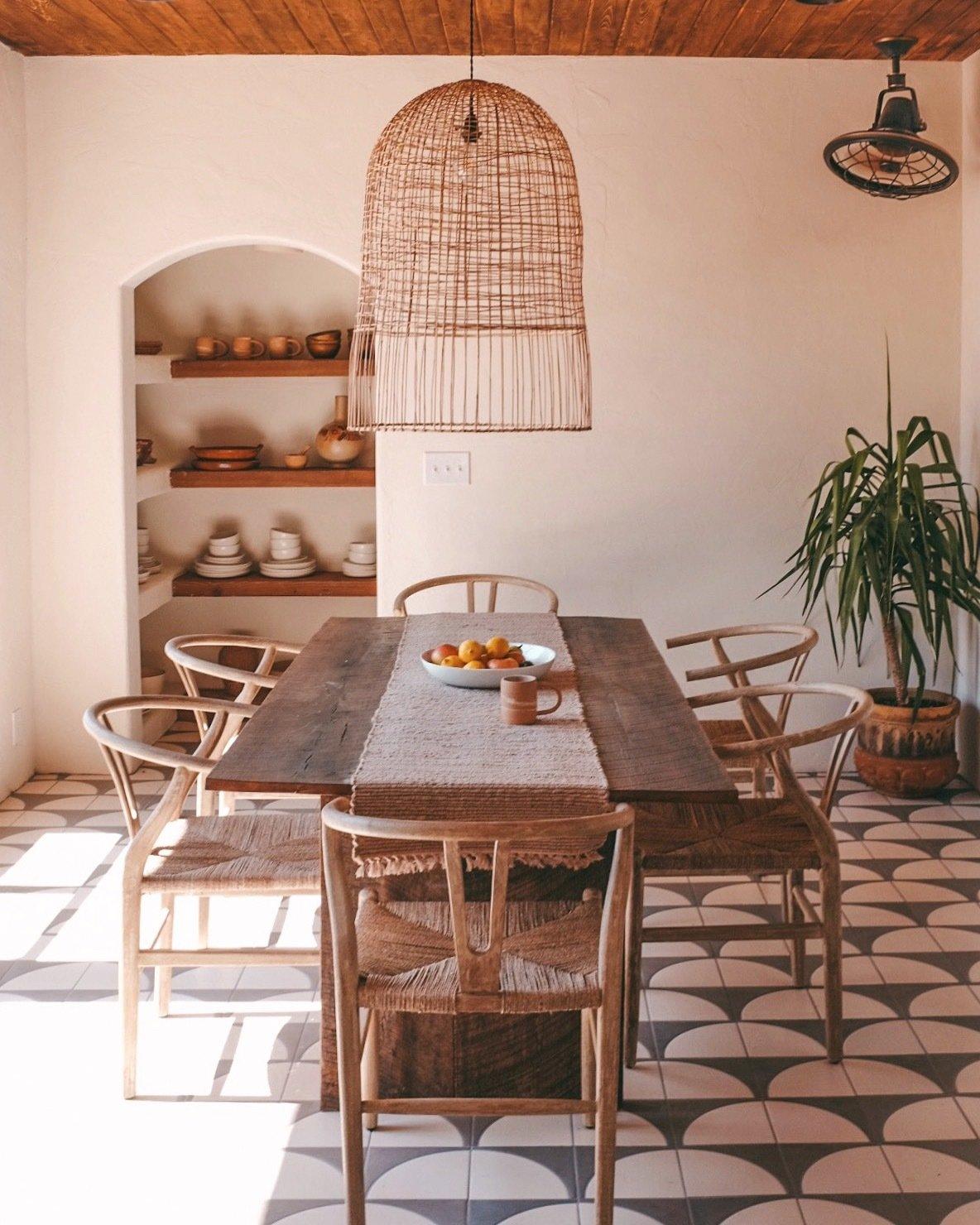 The Posada Sara and Rich Combs dining room