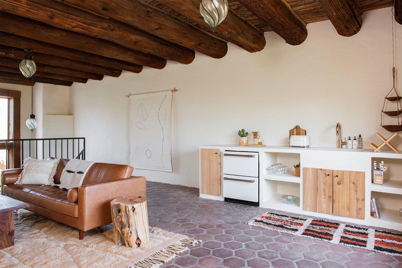 The Posada Sara and Rich Combs living room
