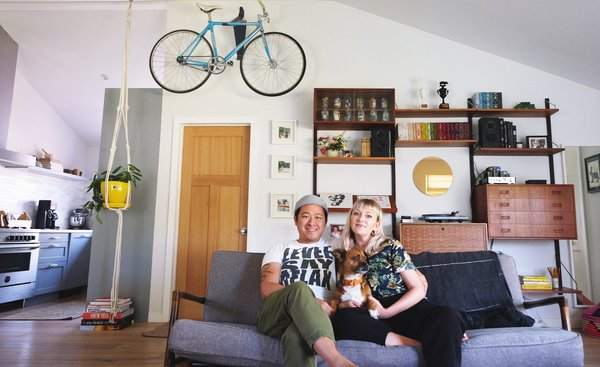 After treating their fixer-upper in Berkeley to a four-year remodel, creatives Danielle Moore and Bryan Wang are adapting to a new normal.
