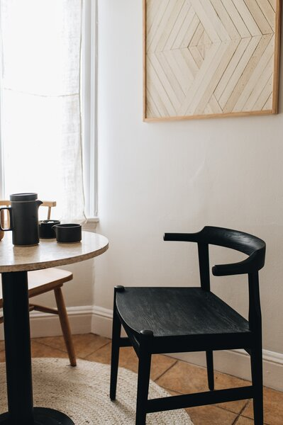 """""""I had been eyeing the """"Frank"""" chair from Sobu, so when I was able, I made the investment in a chair that I know will always stay with me."""""""