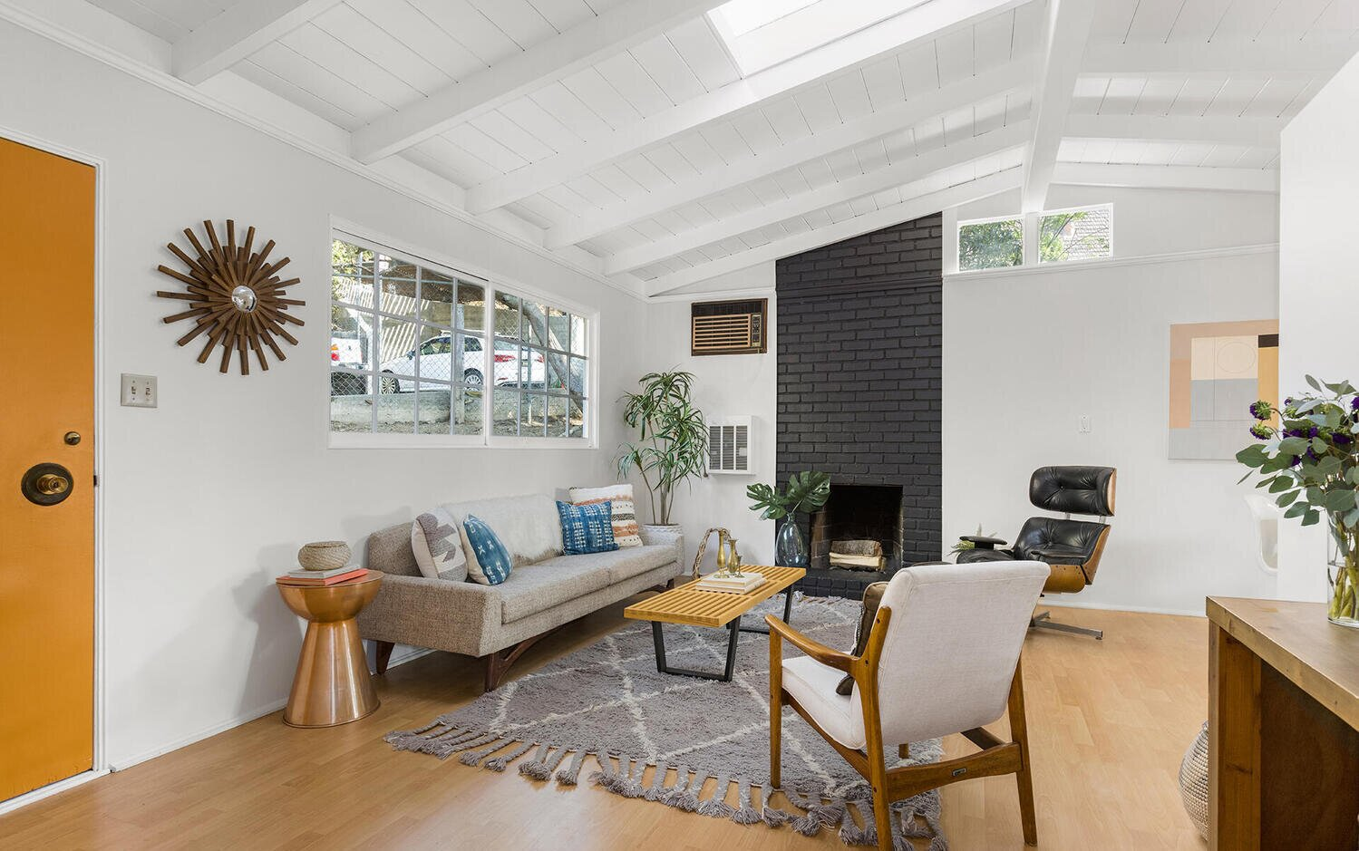"""""""I loved how the sun would come in the windows in the morning in a gentle awakening. (This was of course after I had retired since when I was teaching I was up before sunrise!)""""  Photo 3 of 10 in A Charming Los Angeles Bungalow Asks $750K"""