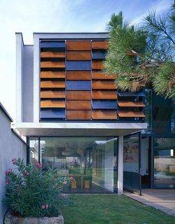the modern facade