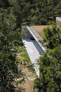 The terrasse.